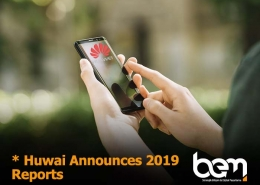 Huawei Announces First Quarter Results for 2019