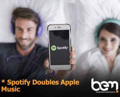 Spotify Doubles Apple Music | Spotify Success